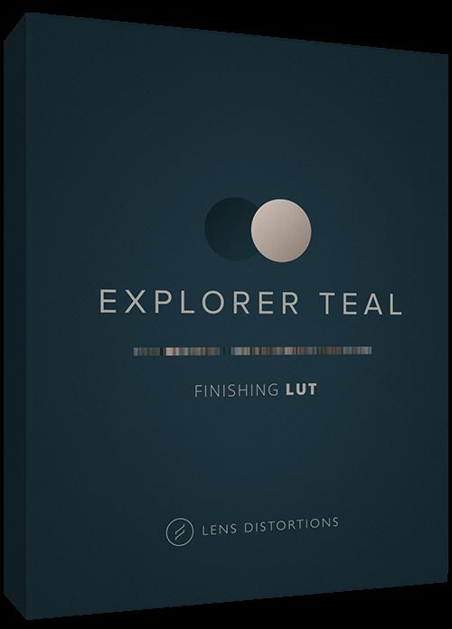 Cinematic LUT in Explorer Teal
