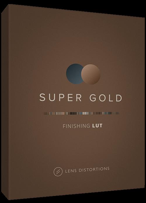 Cinematic LUT in Super Gold