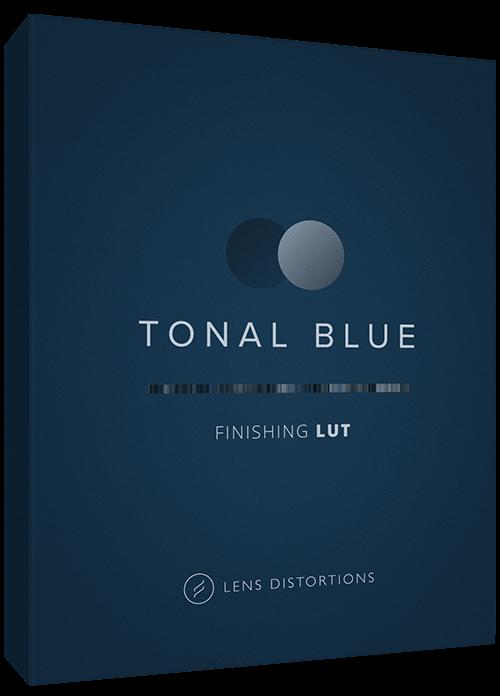 Cinematic LUT in Tonal Blue